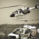 Bild von 1 von 3 Hubschraubern