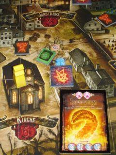 Der Hexer von Salem: Ausschnitt des Spielplans