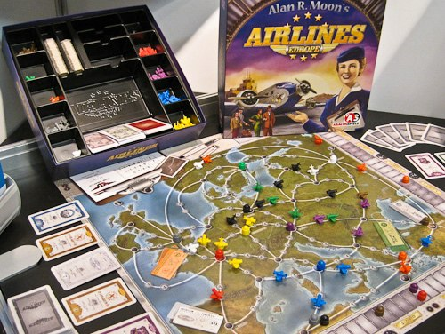 Am Abacus-Stand: Airlines von Alan R. Moon