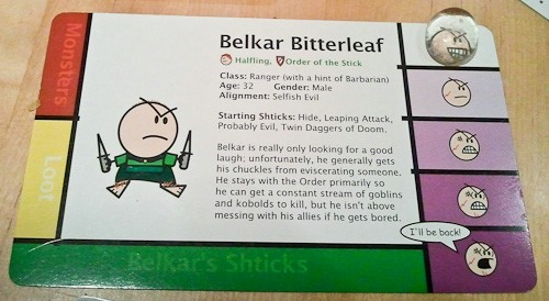 Bild von Order of the Stick - Belkar