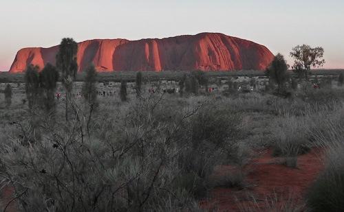 Bild von Uluru