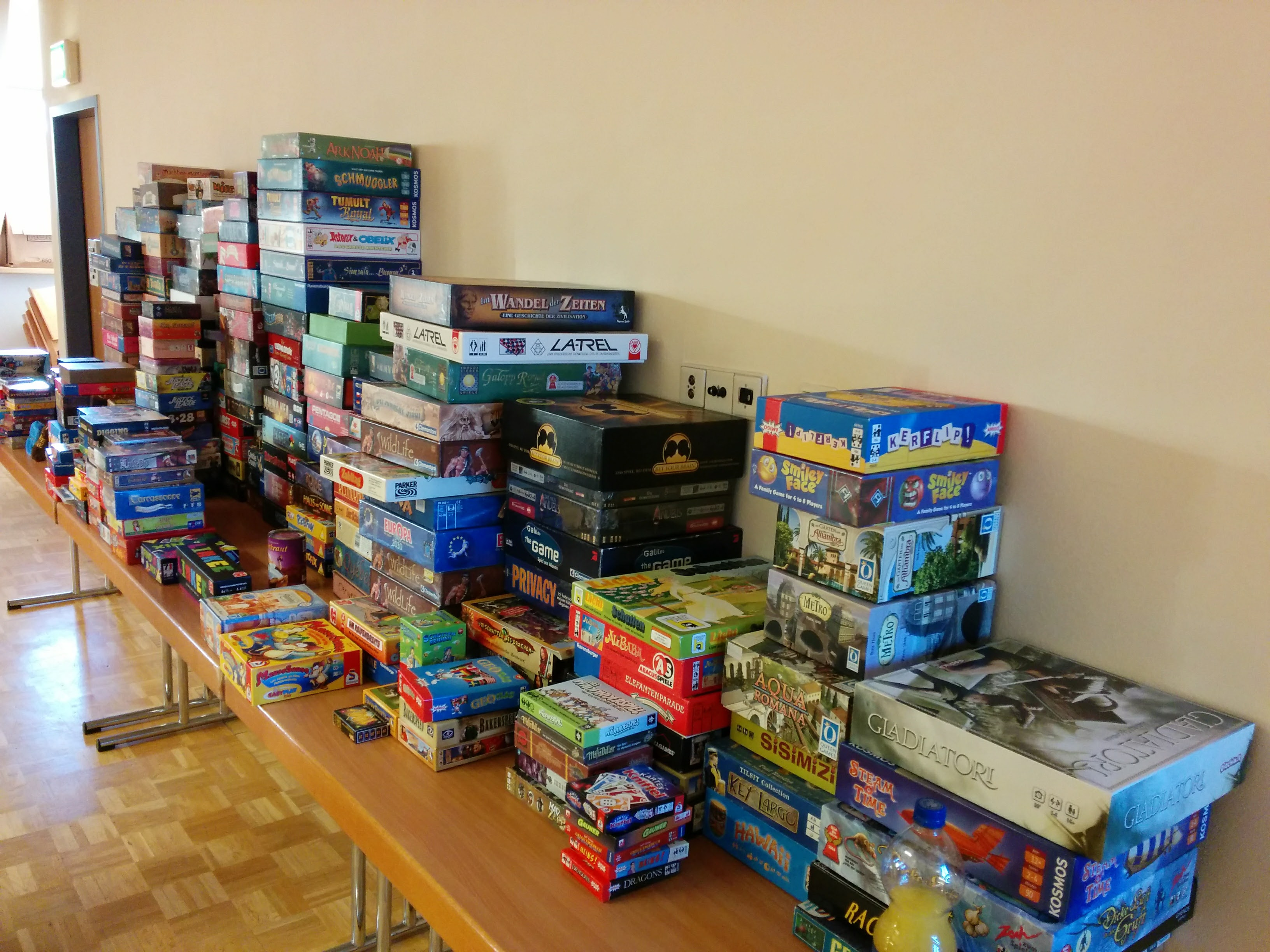 Spiele-Tombola in Altleiningen