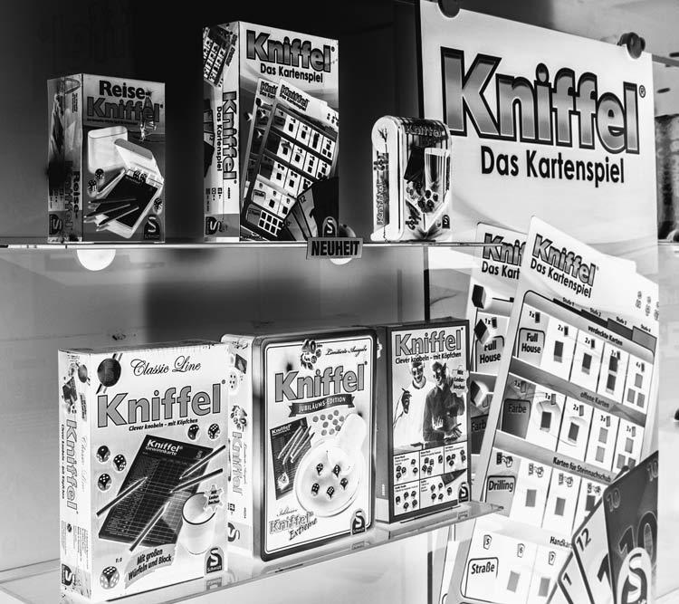 Bild von Kniffel - das Kartenspiel