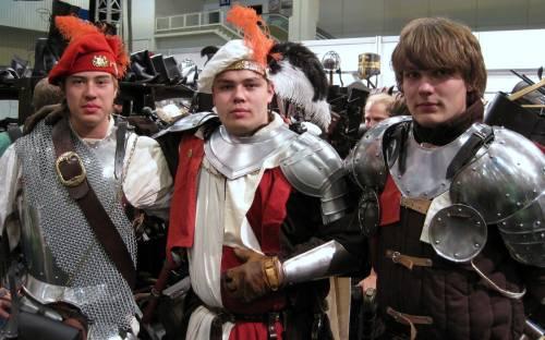 Bild von 3 Krieger